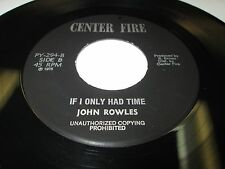 """JUDY CLAY/JOHN ROWLES Greatest Love /Only Time 45 7"""" EX- US CENTER FIRE LISTEN"""