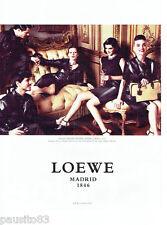 PUBLICITE ADVERTISING 066  2012  Loewe Madrid  boutique sacs à main