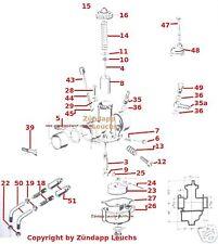Zündapp Bing SLH Vergaser Deckelschraube 21-480   -16-