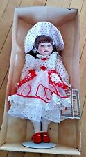 "Vintage New The Vanessa Doll Collection Series-1999 ""Valentine Collection"""