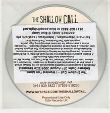 (GU84) The Shallow Call, I Wanted You More - 2009 DJ CD