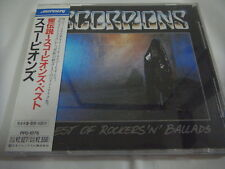 SCORPIONS-Best of Rockers 'n' Ballads JAPAN 1st.Press w/OBI PPD-1076 UFO Kiss
