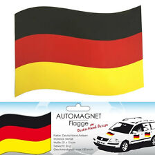 Automagnet Deutschland Flagge NEU - Partyartikel Dekoration Karneval Fasching