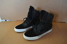 Supra Men's Skytop II Black / White Hightops 8 M New / Defects