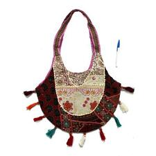 Vintage Triabal Banjara Indian Handmade Ethnic Boho Multicolor Shoulder Bag
