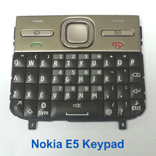 100% Genuine Original Nokia E5 keypad Fascia Housing - Black