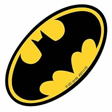 Batman Stickers - Batman Logo Stickers x 5 - Birthday Party Favours - Loot Ideas