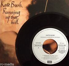 "KATE BUSH -Running Up That Hill- Rare Spain Promo 7"" with Picture Sleeve (vinyl)"
