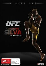 UFC - Anderson Silva - Ultimate Events (DVD, 2015, 8-Disc Set) - BRAND NEW!!