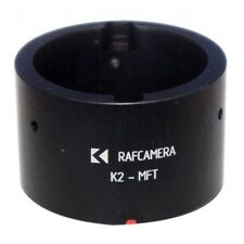 Krasnogorsk-2 lens to MFT (micro 4/3) camera adapter with set screws