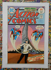 ACTION COMIC #445 - MAR 1975 - LOIS LANE APPEARANCE! - NM- (9.2) CENTS COPY!