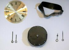 1-13/16 in Round Mini Quartz Clock Movement w/dial, hands and Mounting Collar