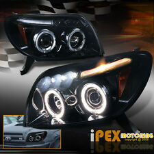 Limited Shiny Black 2003 2004 2005 Toyota 4Runner Halo Projector LED Headlights