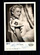 Eva probst Art et Image autographe carte original signé top # BC 652
