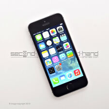 "Apple iPhone 5s 16GB - Space Grey - (Unlocked) - 1 Year Warranty -""Grade A"""