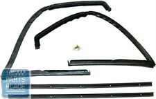 1966-77 Ford Bronco Vent Window Seal Vertical & Front Run - KF4913 - 4 Piece