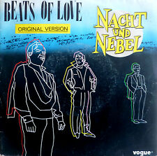 "7"" 1984 RARE FRENCH PRESS NACHT UND NEBEL Beats Of Love"