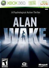 Brand NEW Alan Wake 1 Xbox 360 BRAND NEW/FACTORY SEALED