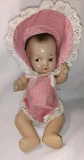 Antique Composition baby doll 10""