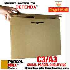 25 A3 C3 SMALL PARCEL SIZE ENVELOPES PARCELMAX Mailers Boxes Alt To Board Backed