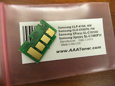 Yellow Toner Chip  for Samsung CLT-Y504S, CLP-415, CLX-4195FN, CLX-4195FW Refill