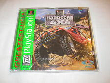 TNN Motor Sports Hardcore TR (Playstation PS1) Game Brand New, Factory Sealed