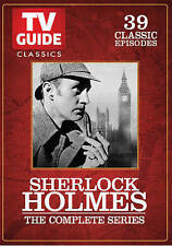 Sherlock Holmes - The Complete Series 39 Episodes (DVD, 2015, 3-Disc Set)