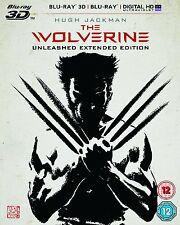 BLU-RAY 3D  THE WOLVERINE       BRAND NEW SEALED UK STOCK