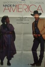Ted Danson Whoopi Goldberg MADE IN AMERICA(1993)US one sheet movie  poster