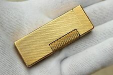 Lighter DUNHILL ROLLAGAS GOLD Barleycorn Finishing -From 70's - RARE!