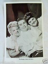 RPPC THE MURPHY SISTERS WITH BARRY! c. 1950's REAL PHOTO B&W POSTCARD PC