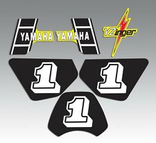 YAMAHA 1983 PW50 DECAL GRAPHIC KIT Standard (Non-Wicked tough)