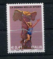 Italia 2002 La donna nello sport  MNH