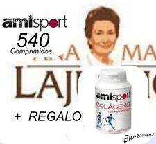 2 x AMLSPORT COLAGENO + MAGNESIO 270 COMP. ANA MARIA LA JUSTICIA + REGALO