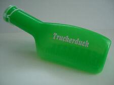 LKW Zubehör Farbige-Urinflasche Grün mit Weißer Truckerduck Beschriftung