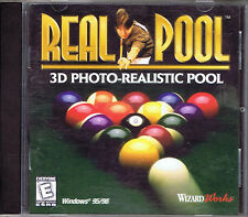 Real Pool (PC, 1998, WizardWorks)