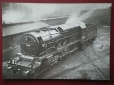 POSTCARD LOCO 6399 'FURY' EXPERIMENTAL HIGH PRESSURE LOCO