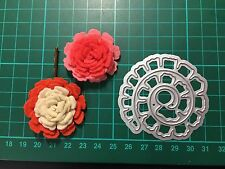 D020 Flower Quilling Rolled Cutting Die for Sizzix Spellbinders Etc. Machine