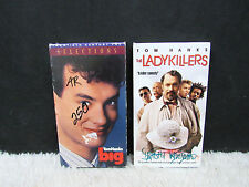 Lot of 2 Tom Hanks Big (1988) and The Lady Killers (1994) VHS Video Tapes