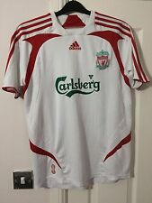 Adidas LIVERPOOL Football Shirt Soccer Jersey LFC Extra Large Away Top 2007 08