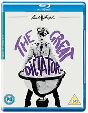 The Great Dictator - Charlie Chaplin - UK Region B Blu Ray