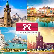 2 Tage Städtetrip für 2P. in 22 Städte - 34 Hotels inkl. Frühstück + Kinder Frei