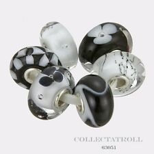 Authentic Trollbeads Silver City Fashion Kit - 6 Beads Trollbead  63051
