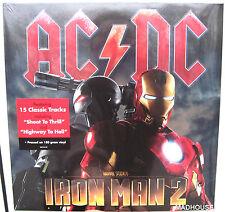 AC/DC LP x 2 Iron Man 180 Gram SEALED Vinyl + Sticker in cellophane NEW Highway