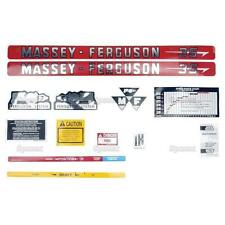 Massey-Ferguson MF 35 MF35 Tractor Complete Decal Set