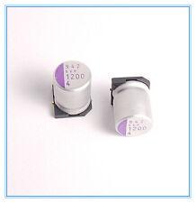 (4pcs) 1200uf 4v Sanyo Polymer Capacitors 4v1200uf (Upgrade 2.5v ) SMD