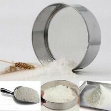 Stainless Steel Mesh Flour Sifting Sifter Sieve Strainer Cake Baking Kitchen SY