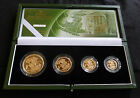 2003 Gold Proof 4-Coin Sovereign Collection Boxed As Issued