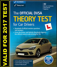 2017 Official DSA DVSA Theory Test for Car Drivers Book Latest edition L UK *thB
