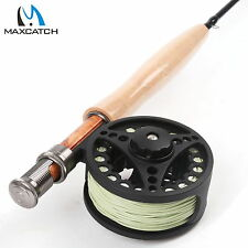5WT Fly Rod And Reel Combo 7Pieces Traveller Fly Fishing Rod & Fly Reel & Line